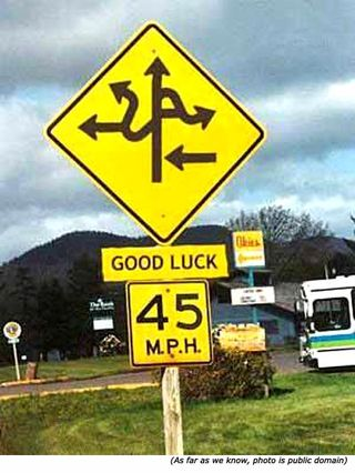 Funny-street-signs-arrows-good-luck